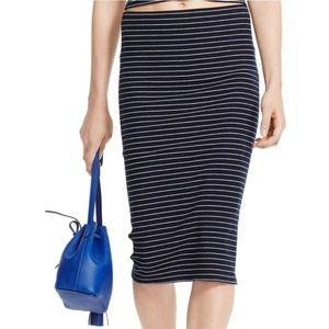 Ralph Lauren White/Navy Skirt